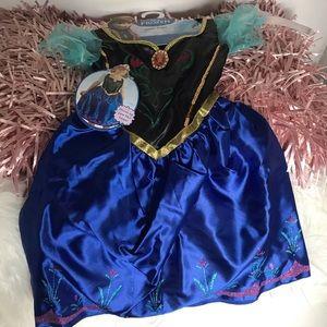 Anna dress from Disney size 4-6-+